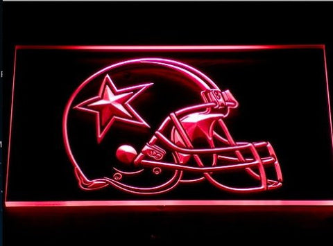 Dallas Cowboys Helmet Neon Sign (236-b. Beer Bar. Light. LED)