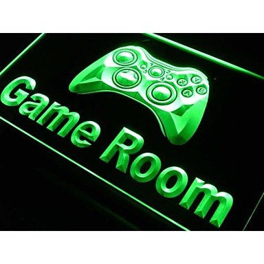 Game Room Neon Sign (Light. Console. LED)