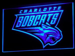 Charlotte Bobcats Neon Sign (LED. B003-b)