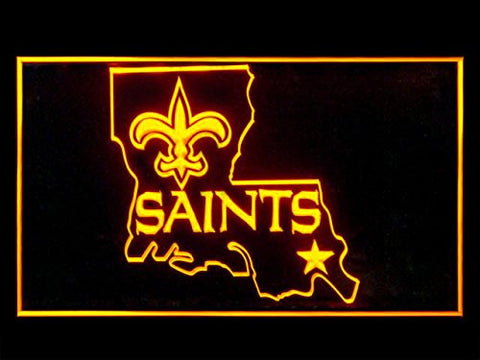 New Orleans Saints Alternate Neon Sign (Bar. LED. Light)