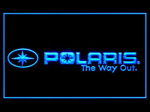 Polaris Snowmobile Led Light Sign