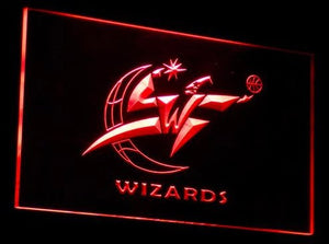 Washington Wizards Neon Sign (B030-b. LED)