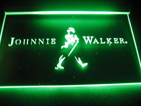Johnnie Walker Whiskey Neon Sign (Light. A082-b. Wine. Bar. LED)
