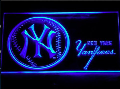 New York Yankees Neon Sign (NY. MLB. Bar. Club. Light. 289-r. LED)