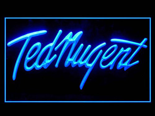 Ted Nugent Bar Led Light Sign
