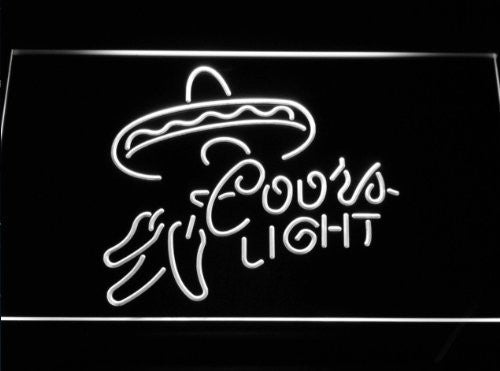 Coors Lite Mexican Neon Sign (Light. Beer. Bar. LED)