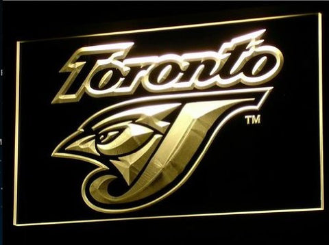 Toronto Blue Jays Neon Sign (B128-b. Light. Gifts. Bar. LED)
