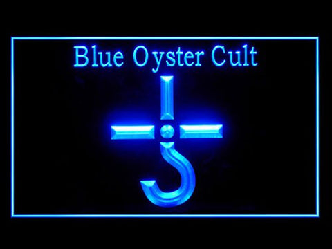 Blue Oyster Cult Bar Led Light Sign