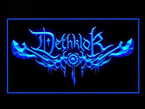 Dethklok Neon Sign (Bar. Hub. Advertising. LED. Light. J672B)