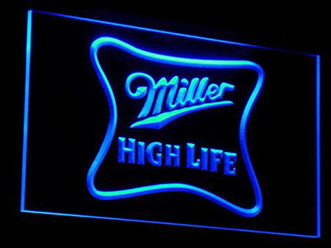 Miller High Life Neon Sign (Light. Beer. Ad. Bar. Pub. LED. Man Cave. A077 B)