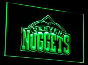 Denver Nuggets Neon Sign (B007-b. Light. Bar. Sport. LED)