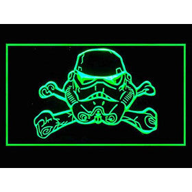 Star Wars Stormtrooper Helmet Neon Sign (LED. Light)