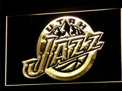 Utah Jazz Neon Sign (Bar. Light. B029-b. LED)