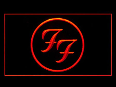 Foo Fighters Rock n Roll Led Light Sign
