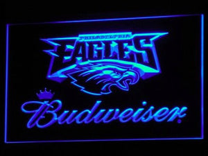 Philadelphia Eagles Budweiser Neon Sign (Nr. Light. B284-g. LED)