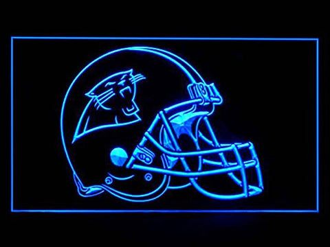 Carolina Panthers Helmet Neon Sign (LED. Light)