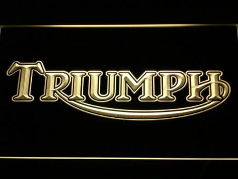 Triumph Motorcycles Services Repairs Neon Sign (D051-b. LED)
