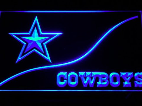 Dallas Cowboys Neon Sign (Light. LED)