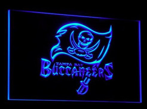 Tampa Bay Buccaneers Neon Sign (Sport. Light. LED)
