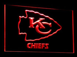 Kansas City Chiefs Neon Sign (Light. Bar. LED)
