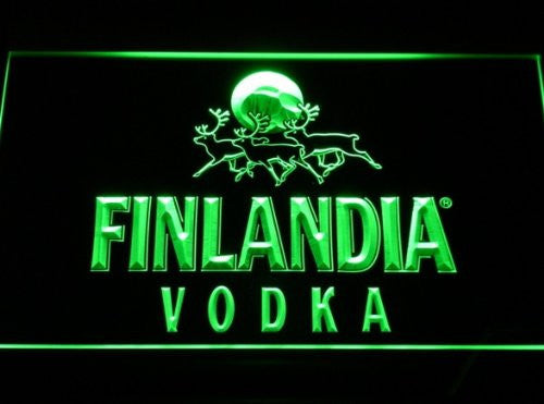 Finlandia Vodka Neon Sign (Light. LED)