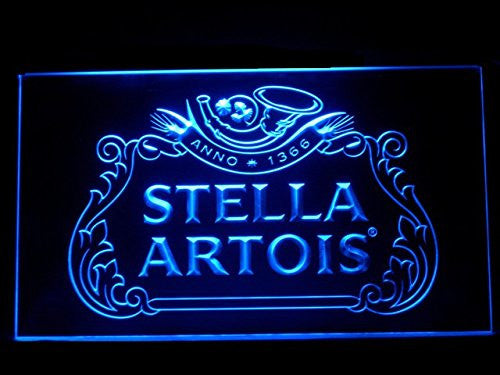 Stella Artios Neon Sign (J492B. Anno. Sport. Game. Bar. Hub. Advertising. LED. Light)