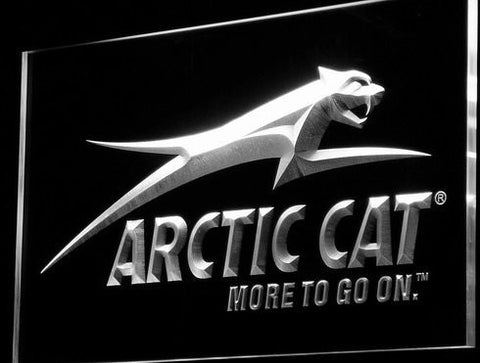 Arctic Cat Snowmobiles Neon Sign (Logo. Light. D129-g. LED)