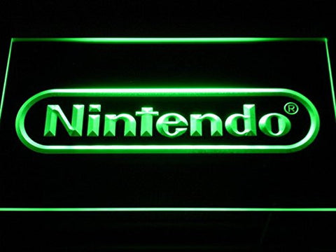 Nintendo Game Neon Sign (Man Cave. E021. LED)