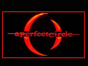 A Perfect Circle Music Led Light Sign
