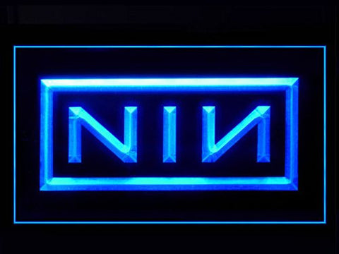 NIN Neon Sign (Nine Inch Nails. Light. LED)