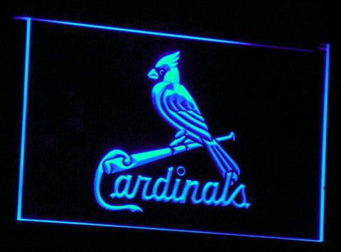 St. Louis Cardinals Neon Sign (Light. B143-r. Pub. Bar. LED)