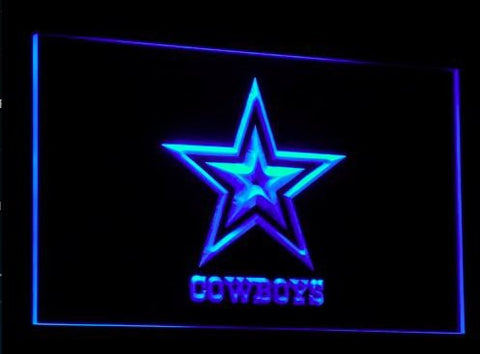 Dallas Cowboys Neon Sign (Nr. Super Bowl. Light. B039-b. LED)