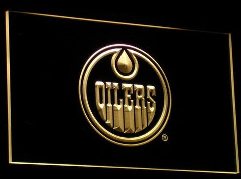 Edmonton Oilers Neon Sign (Beer Bar. Light. LED. Ice Hockey Team)