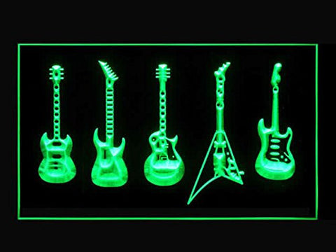 C B Signs Guitars Band Rock Music LED Sign Neon Light Sign Display