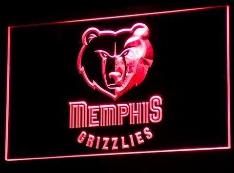 Memphis Grizzlies Neon Sign (B014-b. NBA. LED)