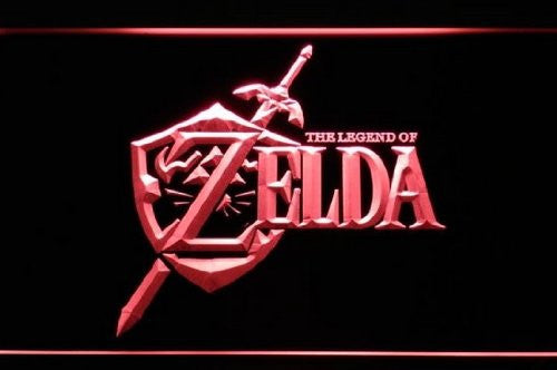 Legend of Zelda Neon Sign (Video Game. Light. LED)