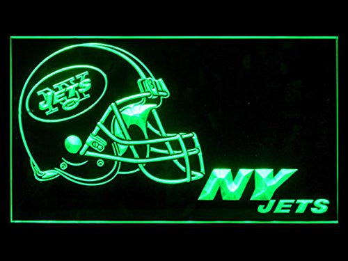 New York Jets Helmet Neon Sign (NY. LED. Light)
