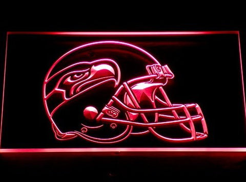 Seattle Seahawks Helmet Neon Sign (Light. Bar. LED)