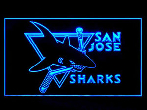 San Jose Sharks Neon Sign (Light. LED)