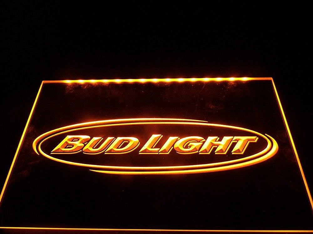 Bud Light Neon Sign (Light. Beer. Bar. Pub. Club. Nr. LED)
