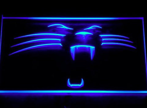 Carolina Panthers Neon Sign (122-b. Light. Football. Bar. LED)