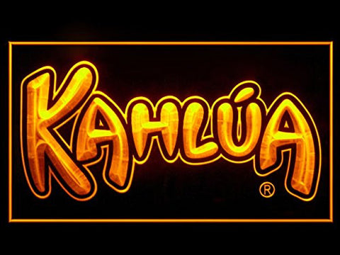 KAHLUA Neon Sign (Liqueur. Hub. Bar. Advertising. LED. Light)
