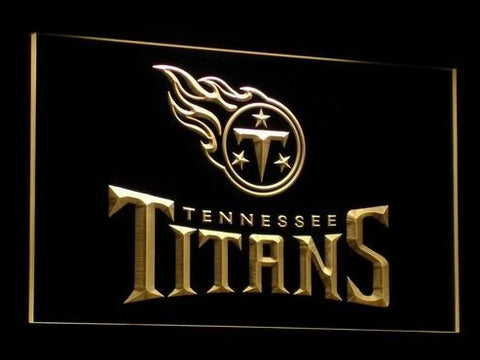 Tennessee Titans Neon Sign (Bar. Light. LED)