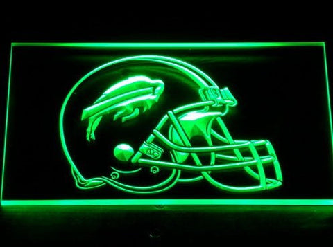 Buffalo Bills Helmet Neon Sign (Light. 232-b. Bar. LED)