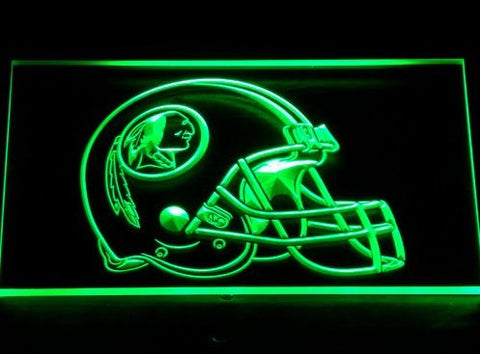 Washington Redskins Helmet Neon Sign (259-y. Light. Bar. LED)