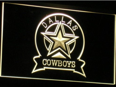 Dallas Cowboys Neon Sign (Light. Sport. Bar. B239(a)-b. LED)