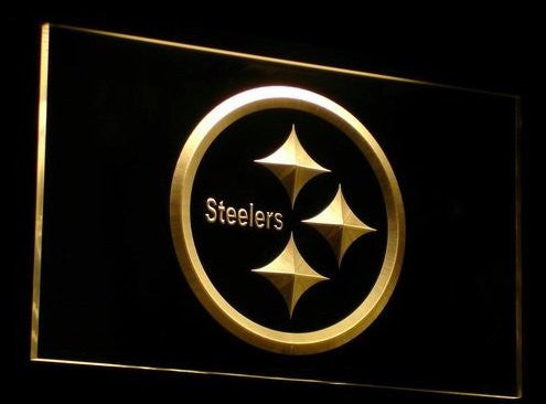 Pittsburgh Steelers Neon Sign (Bar. Club. Light. B055-r. LED)