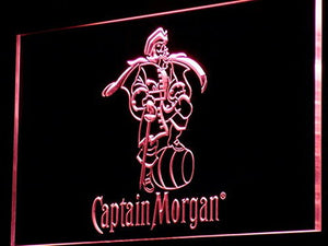 Captain Morgan Neon Sign (Light. Spiced. Rum. Bar. LED. Man Cave)