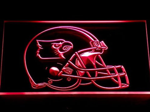 Louisville Cardinals Helmet Neon Sign (Light. 211-r. LED)