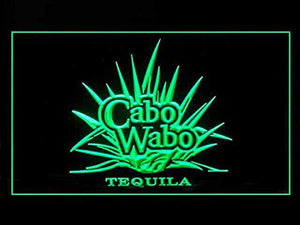Cabo Wabo Tequila Neon Sign (Pub. Beer Bar. LED. Light)
